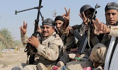 آغاز مرحله پنجم عملیات حشد الشعبی در غرب موصل