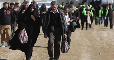 بیش از یک میلیون زائر ایرانی وارد عراق شدند