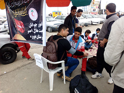 استقرار ۳ هزار نیروی بهداشت و درمان ایرانی در عراق همزمان با ایام اربعین