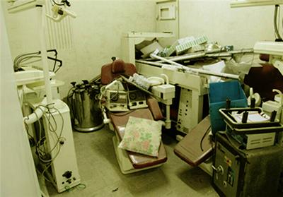 حمله به درمانگاه خیریه شهید موسوی تهرانپارس
