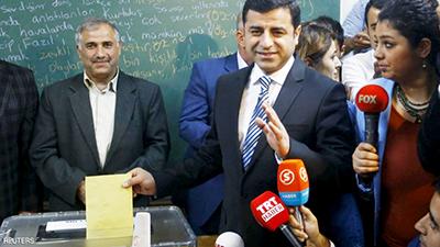 حزب دموکراتیک خلق  پارلمان ترکیه را تحریم کرد
