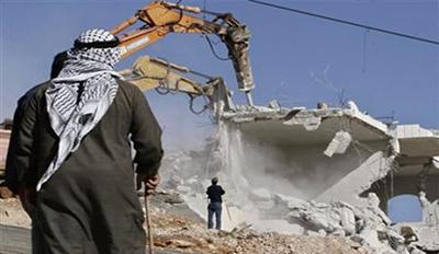 فوراً خانه فلسطینیها را منهدم کنید!