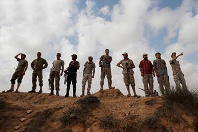 یک میمون در لیبی جنگ به پا کرد!