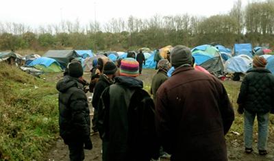 شرایط اسفناک پناهندگان ایرانی در بندر کاله فرانسه