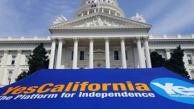جنبش جدایی کالیفرنیا بهطور رسمی خواستار برگزاری همهپرسی استقلال شد