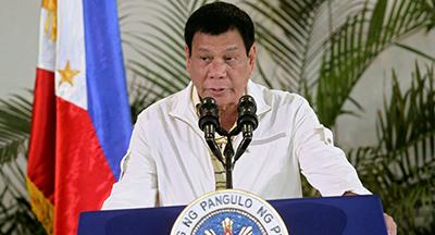 دوترته از پذیرش پناهجویان در فیلیپین استقبال کرد
